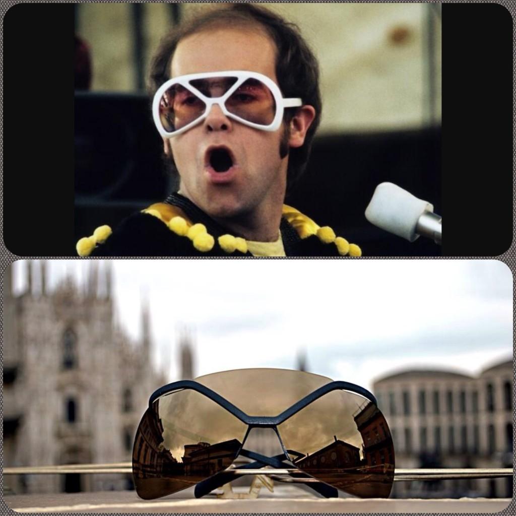 Já viu o Elton John com uns Futura  fd7d470b98