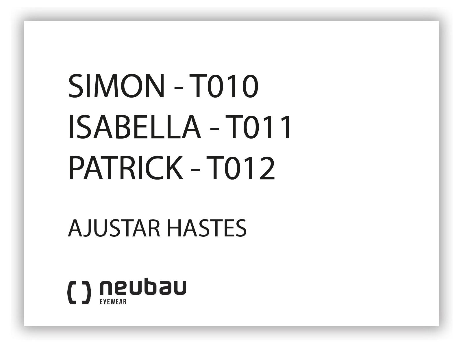 NEUBAU_T010, T011, T012-HASTES