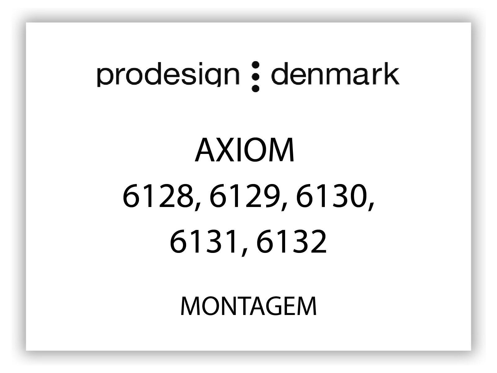 ProDesignDenamark_capa-AXIOM 6128, 6129, 6130, 6131, 6132-MONT