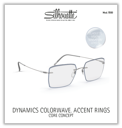 Dinamics Colorwave. Accent Rings | Core Concept