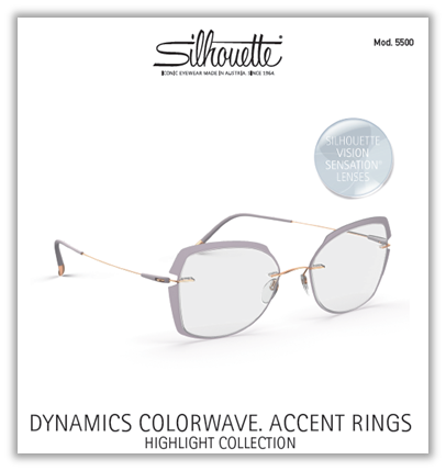 Dynamics Colorwave. Accent Rings | Hightlight Collection